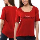 South Carolina Gamecocks Women's Jewel Top II T-Shirt - Garnet