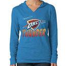 Oklahoma City Thunder '47 Brand Women's Primetime Hoodie - Light Blue