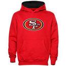 San Francisco 49ers Preschool Fan Gear Primary Logo Pullover Hoodie - Scarlet