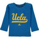 UCLA Bruins adidas Toddler Primary Logo Long Sleeve T-Shirt - Light Blue
