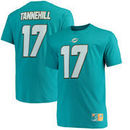 Ryan Tannehill Miami Dolphins Majestic Big & Tall Eligible Receiver Name and Number T-Shirt - Aqua