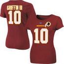 Robert Griffin III Washington Redskins Women's Her Catch Plus Size T-Shirt - Burgundy