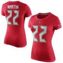 Doug Martin Tampa Bay Buccaneers Nike Women's Player Name & Number T-Shirt - Red