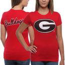 Georgia Bulldogs Women's Encroachment T-Shirt - Red