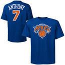 Carmelo Anthony New York Knicks Majestic Preschool Name & Number T-Shirt - Royal Blue