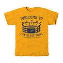 Toledo Rockets Stadium Tri-Blend T-Shirt - Gold