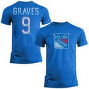 Adam Graves New York Rangers Old Time Hockey Name & Number T-Shirt - Royal Blue