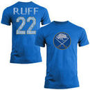 Lindy Ruff Buffalo Sabres Old Time Hockey Name & Number T-Shirt - Royal Blue