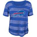 Buffalo Bills Juniors Bolder Burnout T-Shirt - Royal Blue