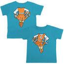 Miami Dolphins Girls Toddler Cheerleader Dreams T-Shirt - Aqua