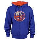New York Islanders Old Time Hockey Conway Full Zip Hoodie - Royal Blue