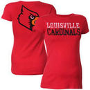Louisville Cardinals My U Maternity Literality T-Shirt - Red