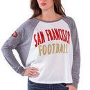 San Francisco 49ers Women's Kickoff Long Sleeve T-Shirt - White