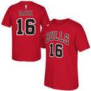 Pau Gasol Chicago Bulls adidas Net Number T-Shirt - Red