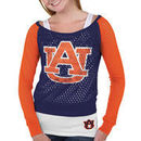 Auburn Tigers Women's Holy Sweatshirt - Navy Blue/Orange