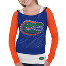 Florida Gators Women's Holy Sweatshirt - Royal Blue/Orange