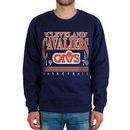 Cleveland Cavaliers Vintage Crew Sweatshirt - Navy Blue