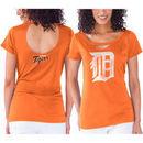 Detroit Tigers Touch by Alyssa Milano Women's Team Spirit T-Shirt - Orange