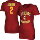 Kyrie Irving Cleveland Cavaliers adidas Women's Name and Number T-Shirt - Wine