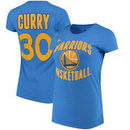 Stephen Curry Golden State Warriors adidas Women's Name and Number T-Shirt - Royal Blue