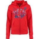 Philadelphia Phillies Majestic Women's Gave Your All Full-Zip Hoodie - Red