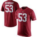 NaVorro Bowman San Francisco 49ers Nike Player Pride Name & Number T-Shirt - Scarlet