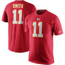 Alex Smith Kansas City Chiefs Nike Player Pride Name & Number T-Shirt - Red