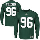 Muhammad Wilkerson New York Jets Eligible Receiver II Name and Number Long Sleeve T-Shirt - Green