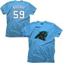 Luke Kuechly Tri-Blend Super Soft T-Shirt - Panther Blue