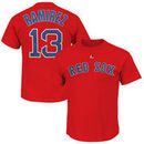 Hanley Ramirez Boston Red Sox Majestic Official Name and Number T-Shirt - Red