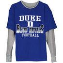 Duke Blue Devils Preschool Arched Fade Long Sleeve Thermal T-Shirt - Royal