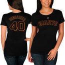 Madison Bumgarner San Francisco Giants Majestic Women's Name and Number T-Shirt - Black