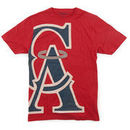 Wright & Ditson California Angels Overgrown T-Shirt - Red