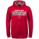 Tampa Bay Buccaneers Zubaz Youth Zebra Performance Hoodie - Red