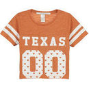 Texas Longhorns chicka-d Girls Youth Boxy Cropped T-Shirt - Orange