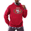 San Francisco 49ers Majestic Critical Victory Pullover Hoodie - Scarlet