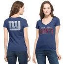 New York Giants '47 Brand Women's Flanker MVP V-Neck T-Shirt - Royal
