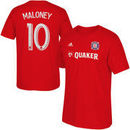 Shaun Maloney Chicago Fire SC adidas Player Name & Number T-Shirt - Red