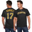 Aramis Ramirez Pittsburgh Pirates Majestic Official Name and Number T-Shirt - Black