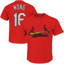 Kolten Wong St. Louis Cardinals Majestic Official Name and Number T-Shirt - Red