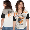 Baltimore Orioles Touch by Alyssa Milano Women's Power Play T-Shirt - Cream