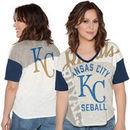 Kansas City Royals Touch by Alyssa Milano Women's Power Play T-Shirt - Cream