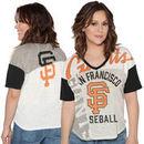 San Francisco Giants Touch by Alyssa Milano Women's Power Play T-Shirt - Cream