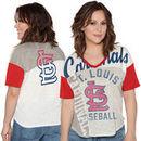 St. Louis Cardinals Touch by Alyssa Milano Women's Power Play T-Shirt - Cream