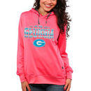 Georgia Bulldogs Women's Sport Fleece Hoodie - Coral