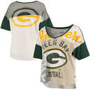 Green Bay Packers Touch by Alyssa Milano Women's Touch Power Play T-Shirt - Cream