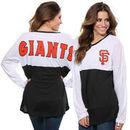 San Francisco Giants Concepts Sport Women's Comeback Long Sleeve T-Shirt - White/Black