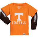 Tennessee Volunteers Wes & Willy Infant Football Fooler Long Sleeve T-Shirt - Tennessee Orange
