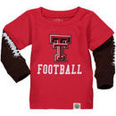 Texas Tech Red Raiders Wes & Willy Infant Football Fooler Long Sleeve T-Shirt - Red