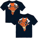 Chicago Bears Girls Toddler Cheerleader Dreams T-Shirt - Navy
